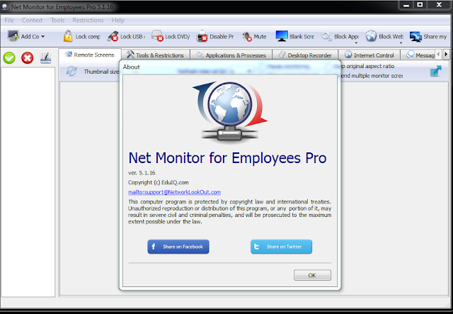 Network LookOut Net Monitor for Employees Pro