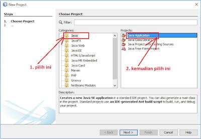 4 - Tutorial 1 Pemrograman Java Netbeans – Cara membuat Project Baru
