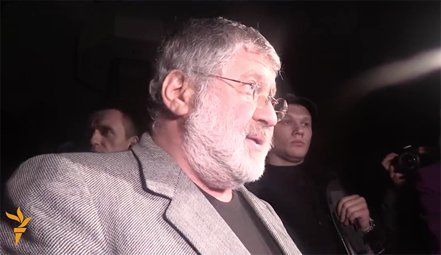 There was a conflict over control of Ukrtransnafta between the government and the oligarch Kolomoisky