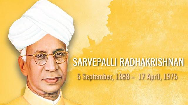 Dr. Sarvepalli Radhakrishnan teachers day 2019 Wishes images