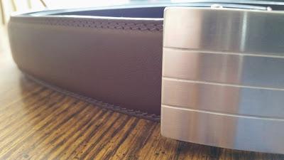 Kore Essentials brown leather belt