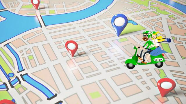 Integrasi Go-Jek dan Uber Lewat Google Maps