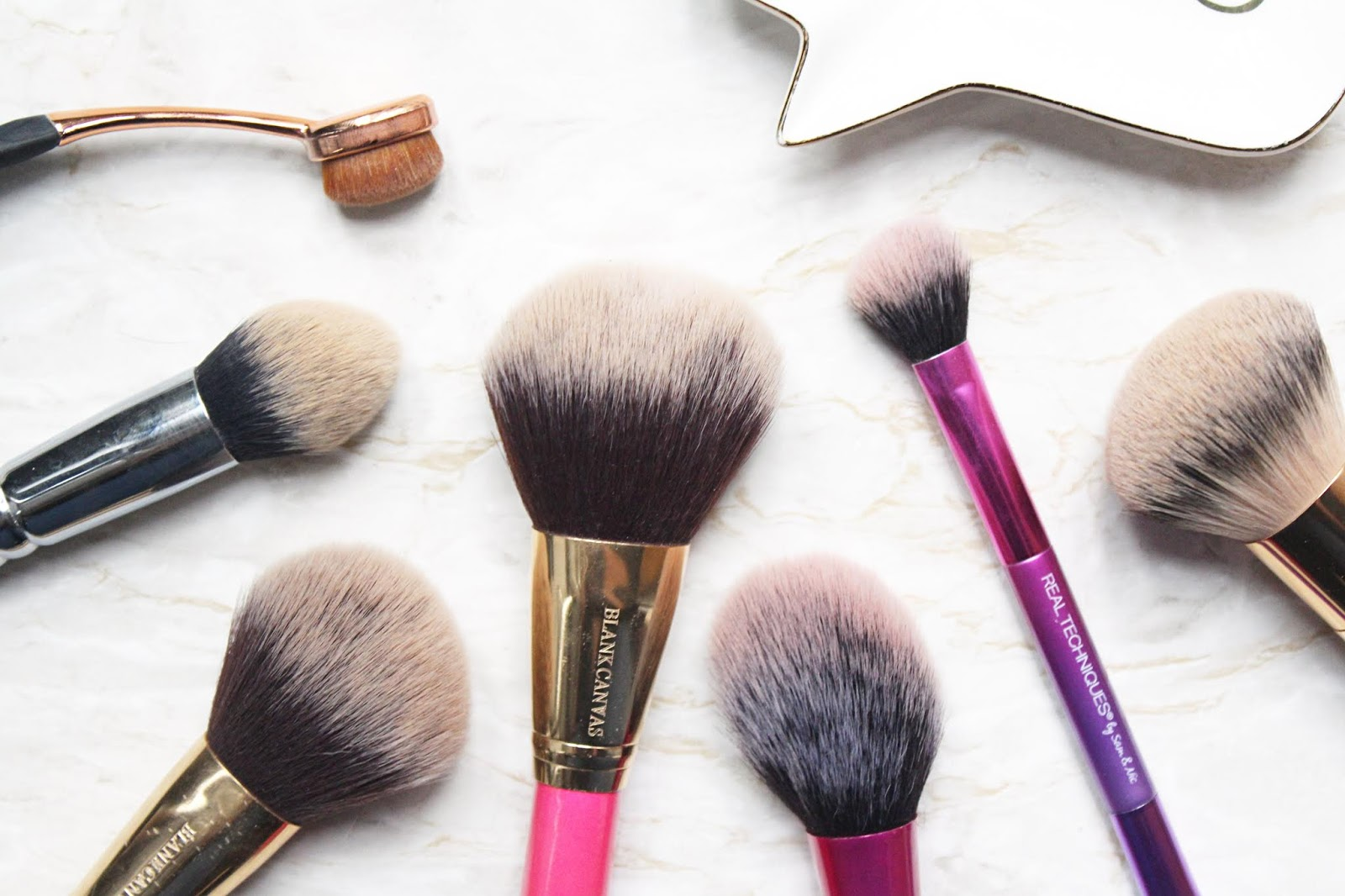 Everyday Face Brushes