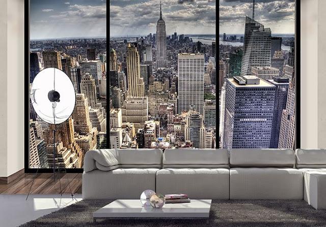 Mural wallpaper for home New York