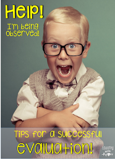 Have a successful teacher observation every time when you follow these simple tips!  Teachers share their strategies to having a great teacher observation!