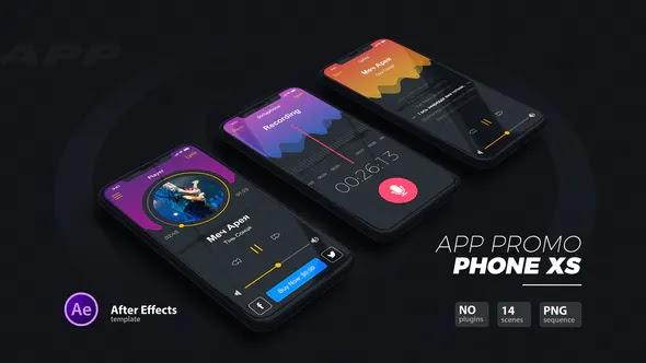 Videohive - App Promo // Phone Xs - 22889961