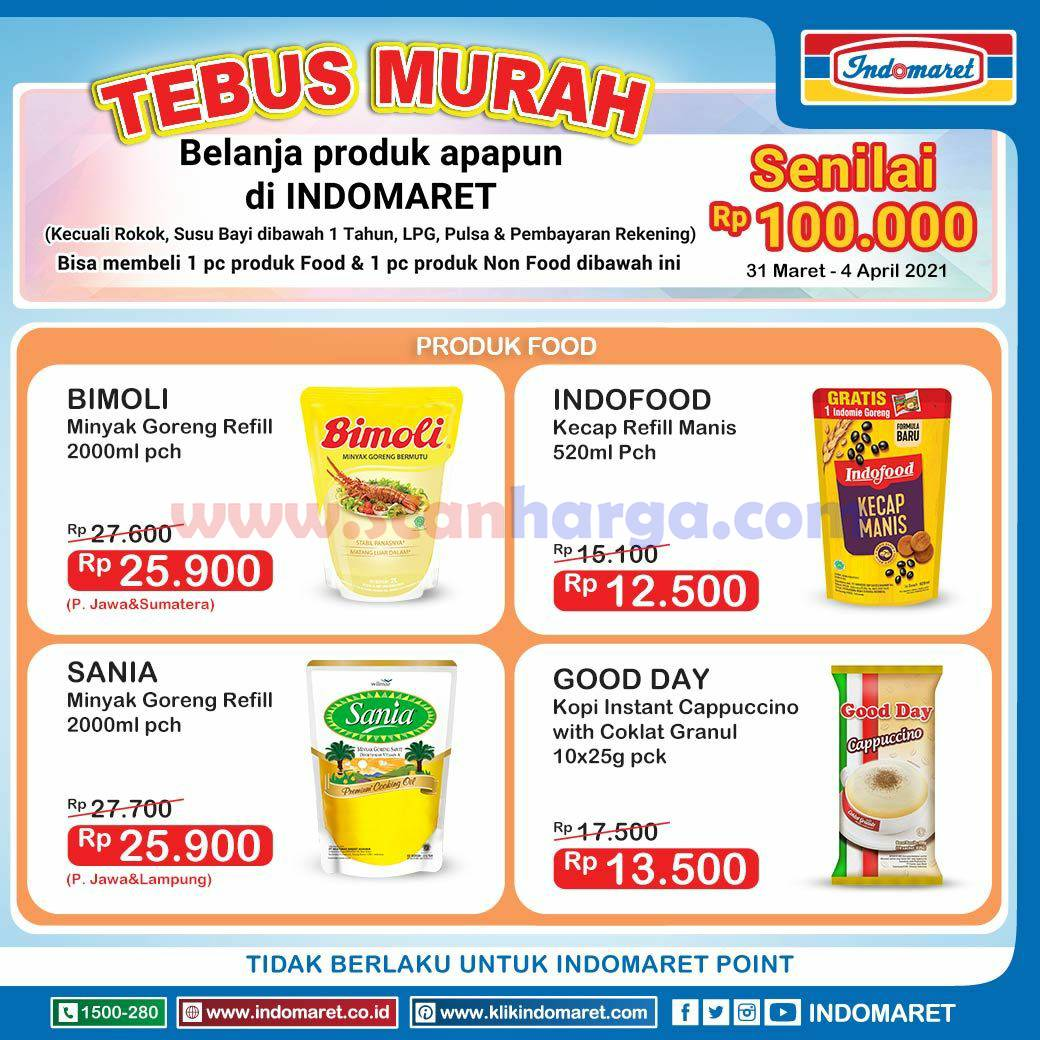 INDOMARET Promo TEBUS MURAH 31 Maret - 4 April 2021 3