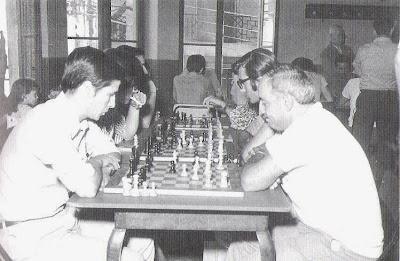 Hogar del Productor (la Cooperativa), cuarto local social del Club ajedrez Tarragona en 1972