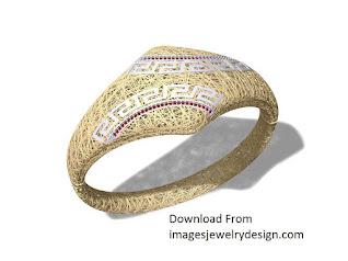 Gold bracelet design for women