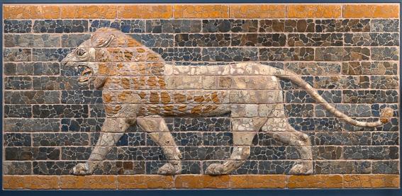 Detalle puerta Ishtar en Museo Pergamo. Berlin en 4 dias