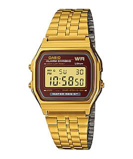 Model Jam Tangan Wanita Casio Gold
