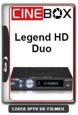 Cinebox Legend HD Duo Nova Atualização Correção Nas Keys SKS 61w - 11-02-2020