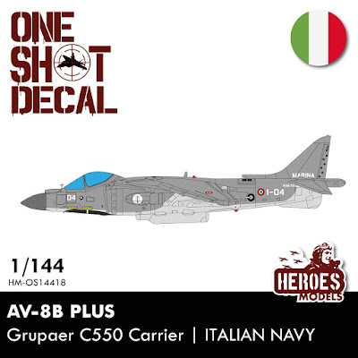 1/144 AV-8B Italian Navy