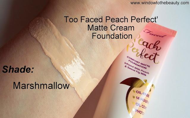 Too Faced Peach Perfect' Matte Cream