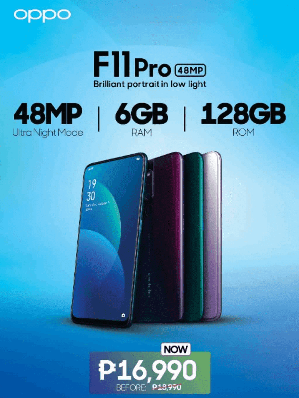 F11 Pro feels premium but affordably-priced for you