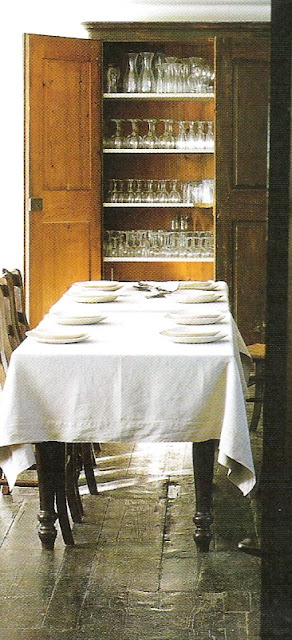 Côté Sud Fev-Mar 2005 kitchen storage edited by lb for linenandlavender.net/, post: http://www.linenandlavender.net/2009/07/heart-of-home.html
