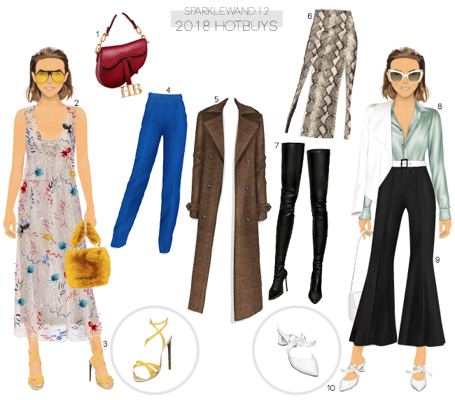 824a14a61 1 Hotbuys Inspired Saddle Bag 2 Hotbuys Burberry Inspired Mesh Dress 3  Hotbuys Yellow Sandals 4 Hotbuys Gucci Inspired Silk Pants 5 Hotbuys Wool  Trench Coat ...