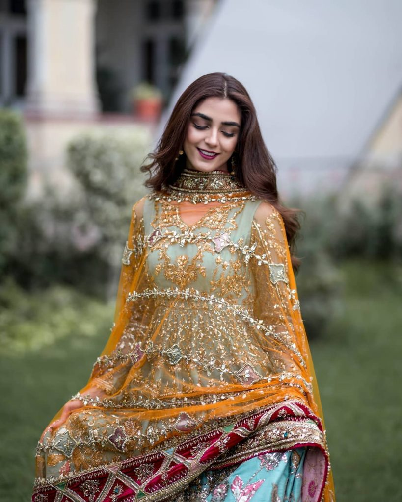 Stunning Photoshoot of Maya Ali