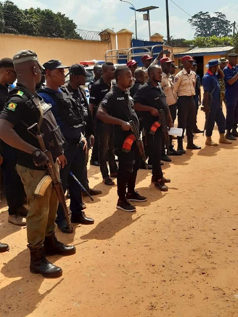 Anambra Police Parade 70 Suspects (Photos)