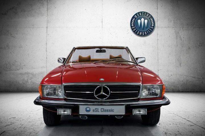 Các mẫu xe Mercedes-Benz đời 'cụ ông' được độ động cơ điện, giá bán ngang xe mới