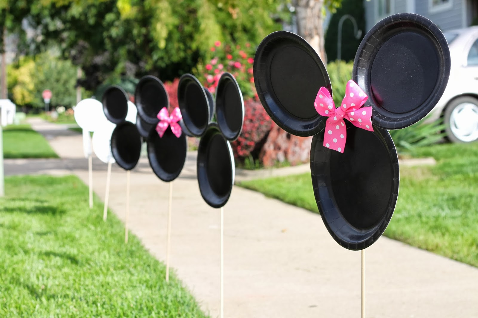 Homemade Minnie Mouse Decorations Ideas Elitflat