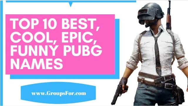 best pubg nicknames, uersnames