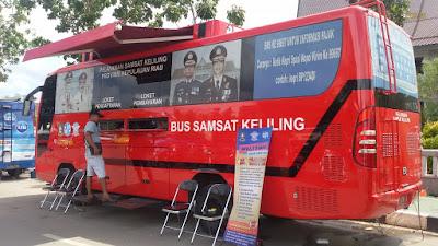 Bis Samsat keliling di kota Batam
