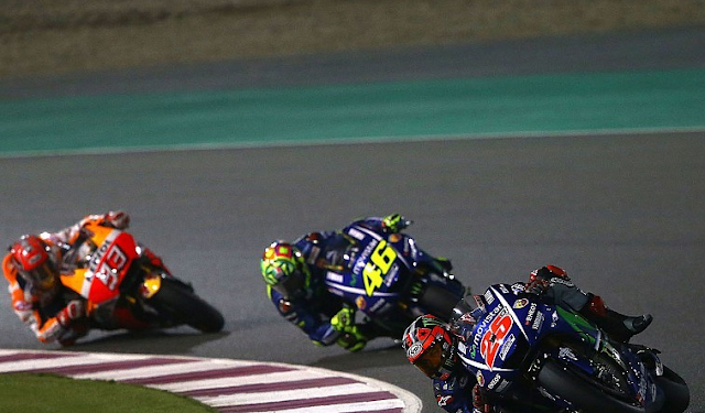 Photo Vinales Di Sirkuit Qatar Kemaren