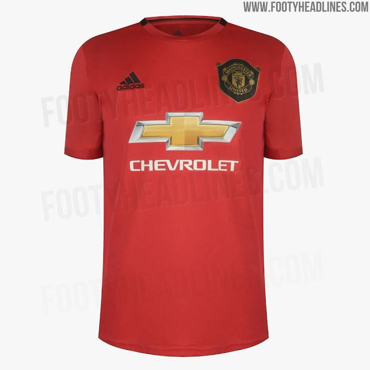 Footyheadlines Manchester United 2018 19 Season Home Kit: Manchester United 19-20 Home Kit Leaked