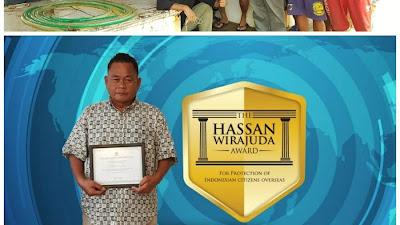 Selain WNI di Rusia, WNI di Jepang Juga Terima Hassan Wirajuda Pelindungan Award Tahun 2020