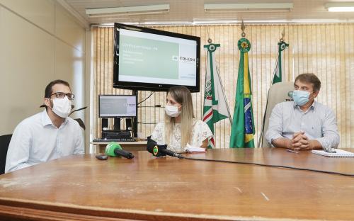 Governo Municipal anuncia medidas de combate à Covid-19 em coletiva