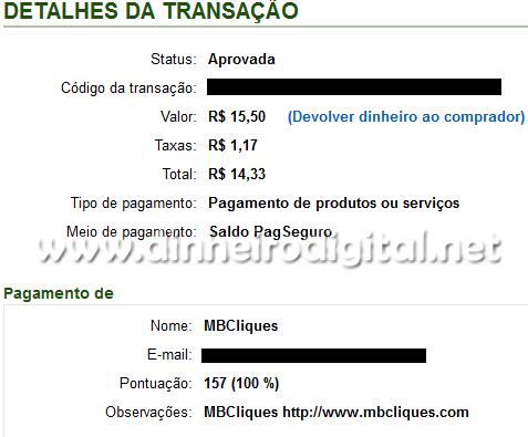 mbcliques pagamento