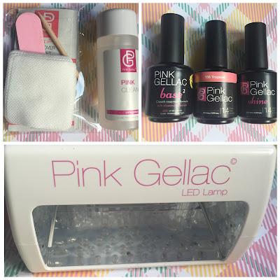 Pink Gellac starter kit