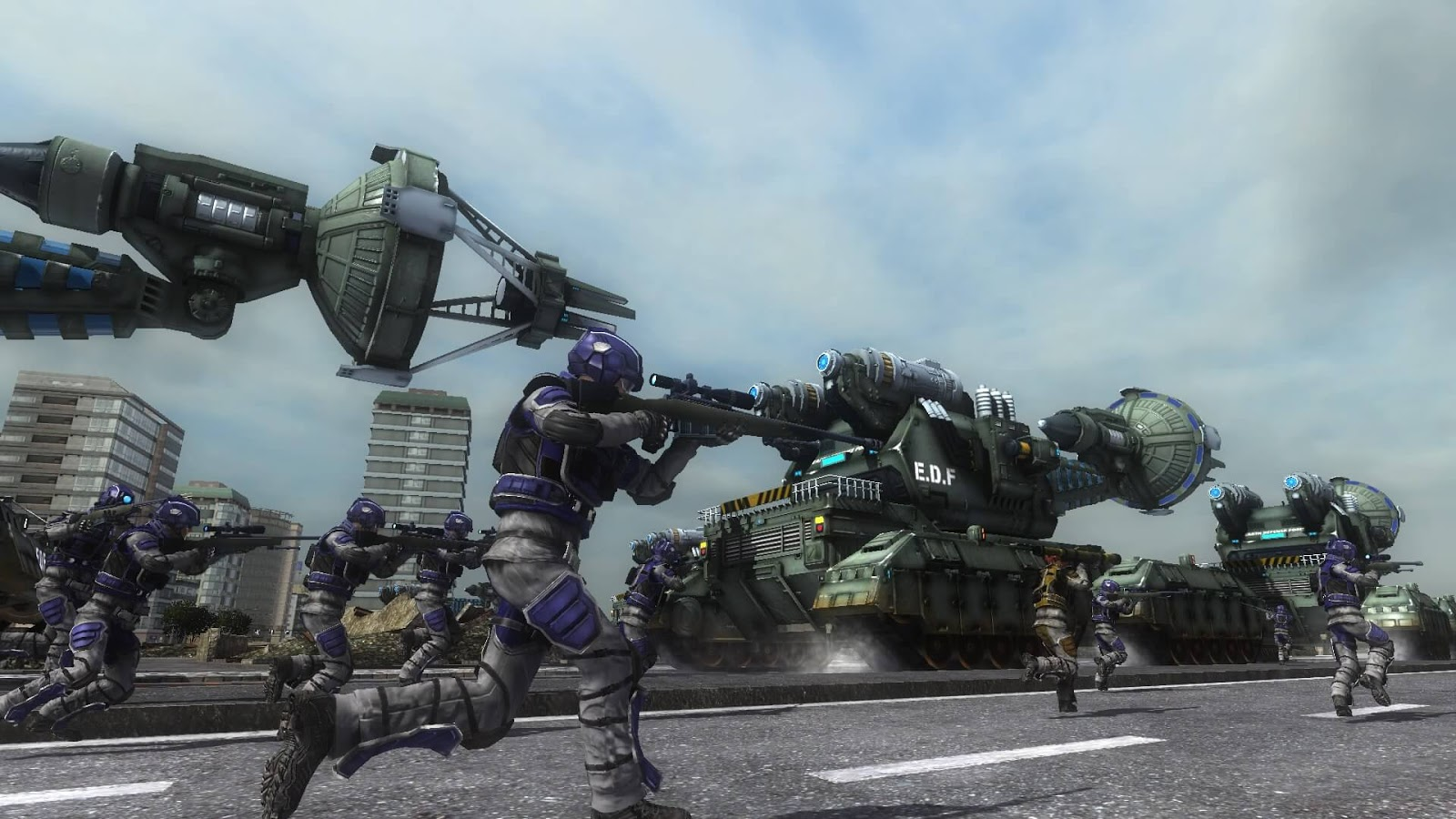 Earth Defense Force 5 Launched On Steam