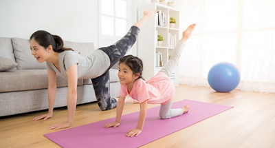 olahraga di masa pandemi,yoga,senam,aerobik,meningkatkan imunitas tubuh