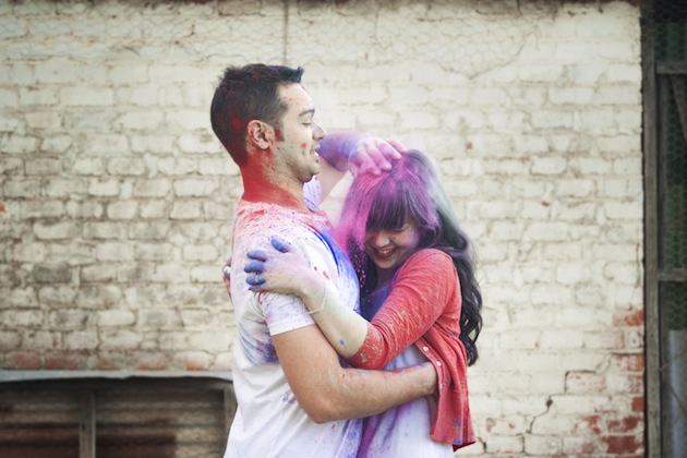 Holi Romantic Images
