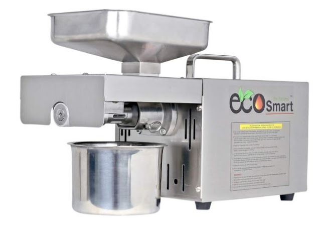 EcoSmart ES 01 IS 400W Oil Maker Machine, Silver