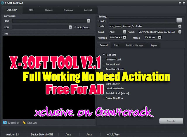 Download X-Soft Tool v2.1 Free For All [No Need Activation Key]