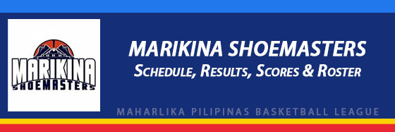 MPBL: Marikina Shoemasters Schedule, Results, Scores, Roster