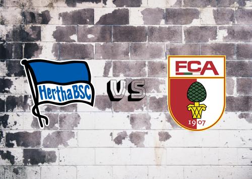 Hertha BSC vs Augsburg  Resumen