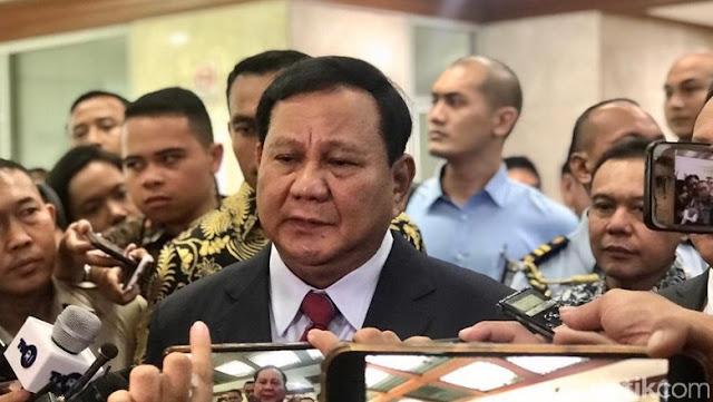 Terkait 'Pencekalan' HRS, Prabowo Akan Diskusi dengan Jokowi-Pihak Saudi