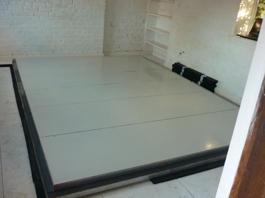 soundproof drum room installed into drummers home amadeus. Black Bedroom Furniture Sets. Home Design Ideas