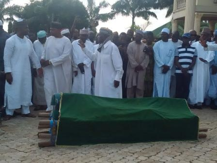 Photos: Shuaibu Amodu laid to rest at his hometown