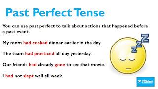 شرح زمن الماضي التام The Past Perfect explanation