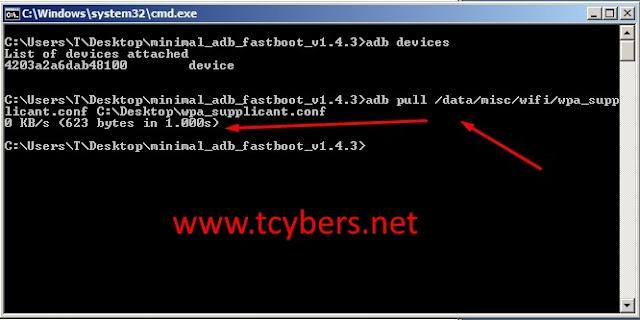 Kayıtlı wifi şifresi öğrenme
