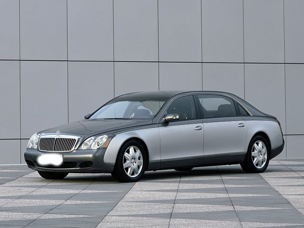 Maybach 62 Automobile For Life