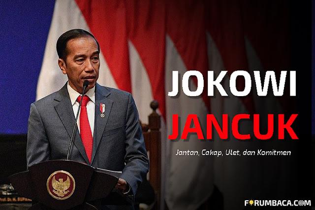 Gelar Istimewa Cak Jancuk untuk Jokowi