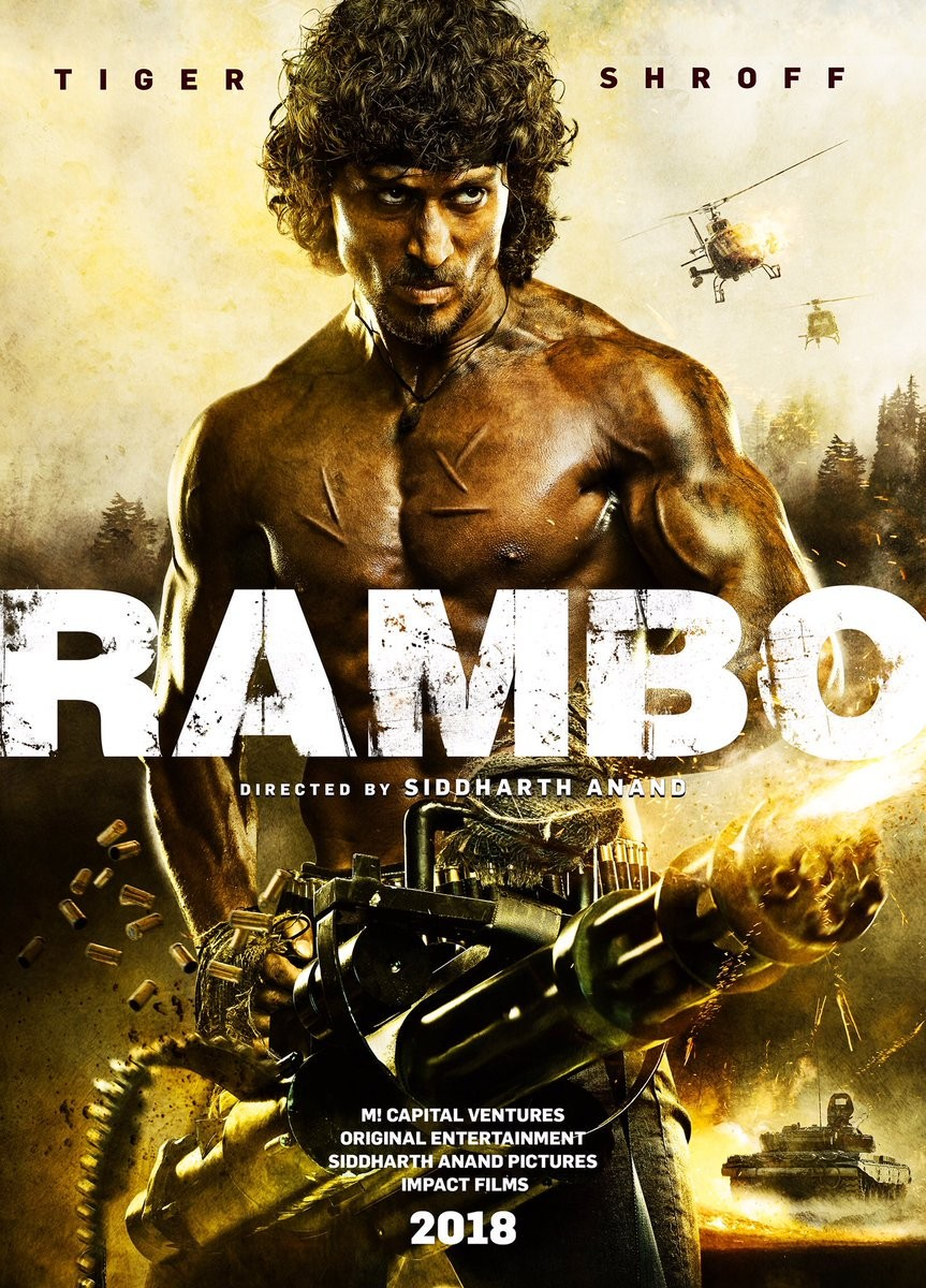 Tiger Shroff Rambo First Look Poster