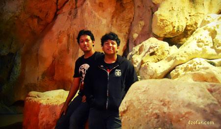 Di dalam Wisata Air Pantai Kartini