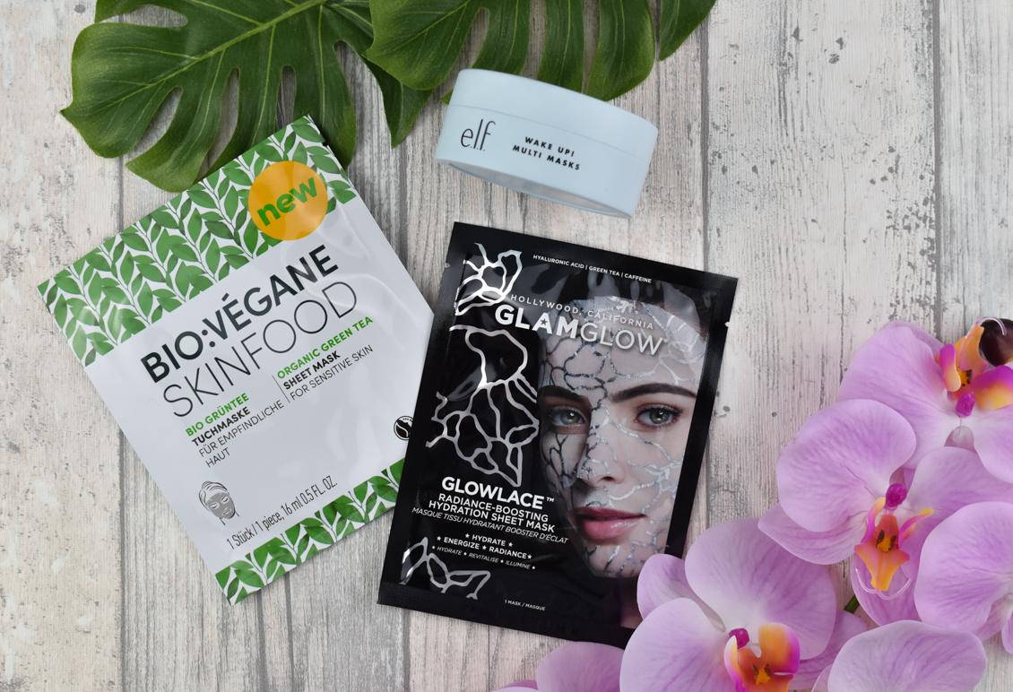 Tipps für einen frühlingshaften Teint - GLOWLACE Radiance Boosting Sheet Mask - Bio:Vegane Tuchmaske